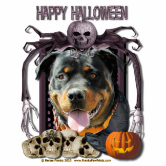 Halloween Nightmare - Rottweiler - SambaParTi Photo Cut Outs