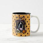 Halloween Nightmare - Saint Bernard - Mae Coffee Mug