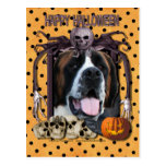 Halloween Nightmare - Saint Bernard - Mae Post Cards