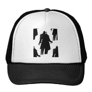 halloween nosferatu trucker hat