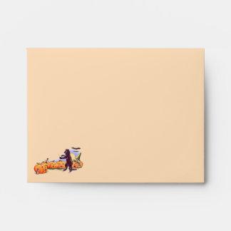 Halloween Note Card Envelope