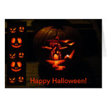 Halloween Notecard Tarjeta