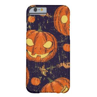 Halloween, obra clásica, calabaza, patten del funda barely there iPhone 6