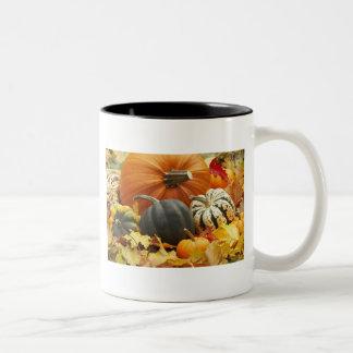Halloween October Decoration Two-Tone Coffee Mug