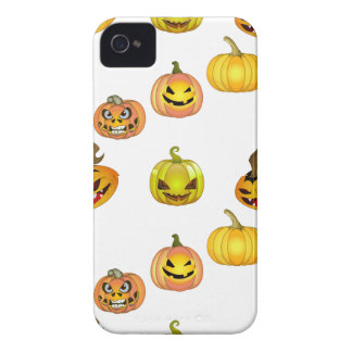 Halloween of free style bites pumpkins iPhone 4 Case-Mate case