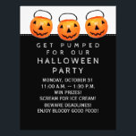"""Halloween Office Party Flyer<br><div class=""""desc"""">Halloween invitations for your office,  neighborhood,  business,  or school party.</div>"""