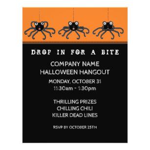 halloween party invitation flyers zazzle