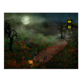 Halloween - One Hallows Eve Post Card