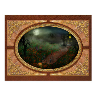 Halloween - One Hallows Eve Post Cards