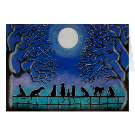 Halloween or any day Frameable Greeting Card