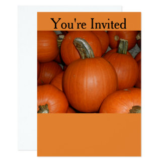 Halloween or Fall Party Invitation