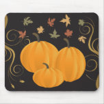 Halloween or Thanksgiving fall and autumn products Mouse Pad