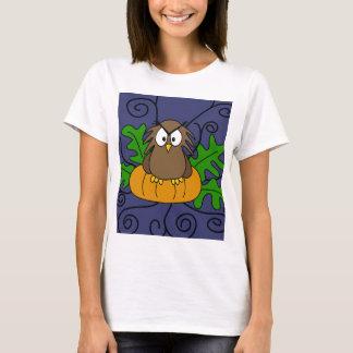 Halloween owl and pumpkin T-Shirt