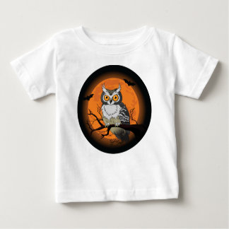 Halloween Owl Baby T-Shirt