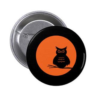 Halloween Owl Pin