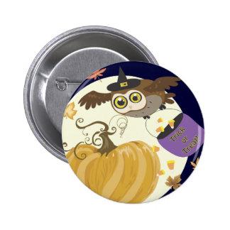 Halloween Owl Buttons