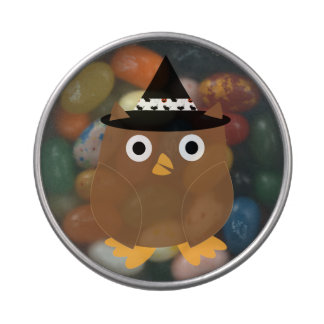 Halloween Owl Jelly Belly Candy Tin