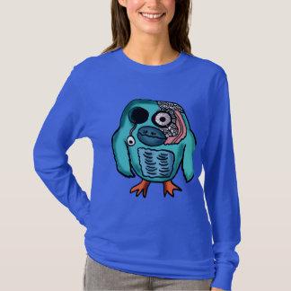 Halloween Owl Cartoon T-Shirt