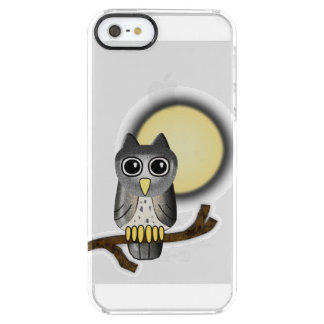 Halloween Owl Clear iPhone SE/5/5s Case