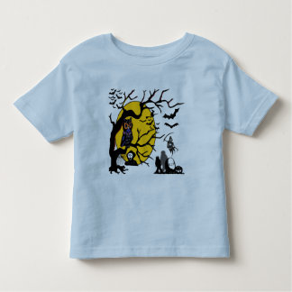 Halloween Owl Collage Toddler T-shirt