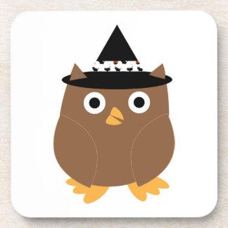 Halloween Owl Cork Coaster