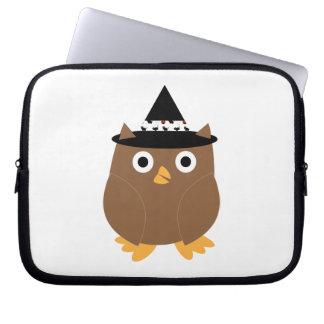 Halloween Owl Electronics Bag Laptop Sleeves