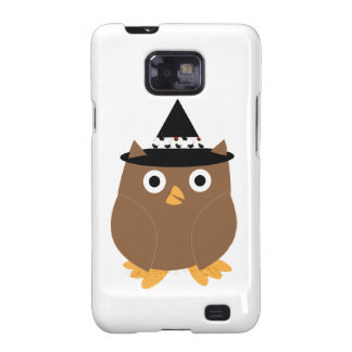 Halloween Owl Galaxy S2 Covers