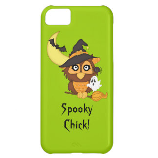 Halloween Owl/Ghost/Bats/Moon Case For iPhone 5C