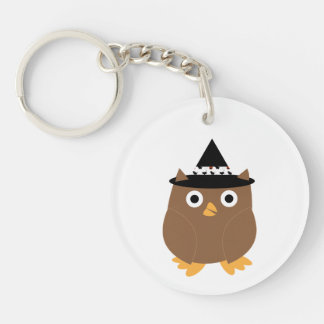 Halloween Owl Key Chain