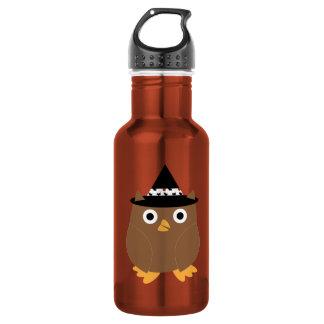 Halloween Owl Liberty Bottle 18oz Water Bottle