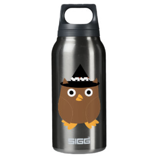 Halloween Owl Liberty Bottle 10 Oz Insulated SIGG Thermos Water Bottle