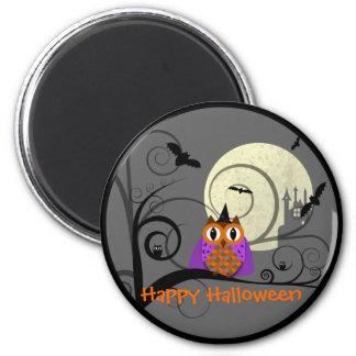 Halloween Owl Magnet