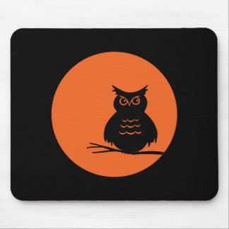 Halloween Owl Mouse Pad