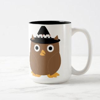 Halloween Owl Mug