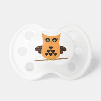 Halloween Owl Pacifier
