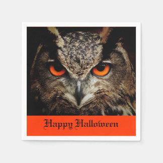 Halloween Owl Disposable Napkins