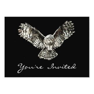 Halloween Owl Party Invite to Customize