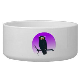 Halloween Owl Pet Bowl