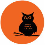 Halloween Owl Photo Cutouts