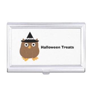 Halloween Owl Business Card Holders
