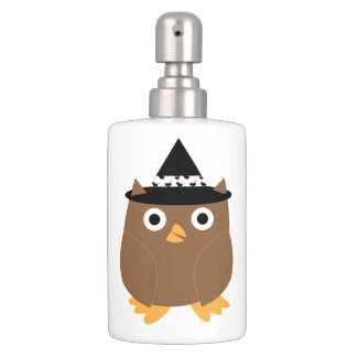 Halloween Owl Toothbrush Holder