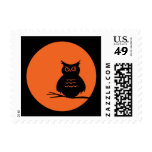 Halloween Owl Postage