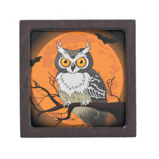 Halloween Owl Premium Gift Box
