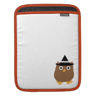 Halloween Owl Rickshaw Sleeve iPad Sleeves