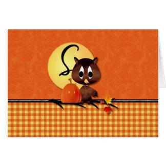 Halloween Owl S Card