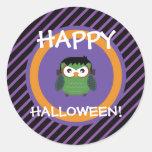 Halloween Owl Stickers