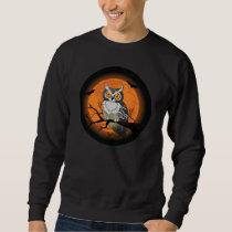 Halloween Owl Sweatshirt