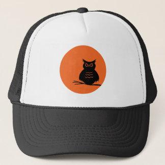 Halloween Owl Trucker Hat