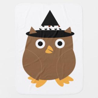 Halloween Owl Baby Blankets