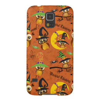 Halloween Owls 2 Galaxy S5 Case
